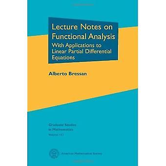 Luentomuistiinpanot toiminnallisesta analyysistä: Sovellukset lineaarisiin osittaisiin differentiaaliyhtälöihin (jatko-opinnot...