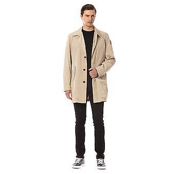 Coat Brown Trussardi man