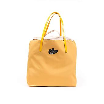 BYBLOS Brescia Yellow Fabric Handbag