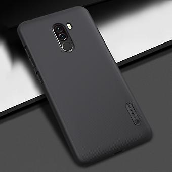 NILLKIN Frosted Concave-convex Texture PC Case for Xiaomi Pocophone F1 (Black)