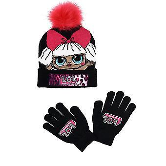 Flickor TH4121 LOL Överraskning Vinter hatt & handskar Set