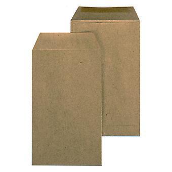 Sobres Marrones (3 x 10 x 17 cm) (48 Piezas)