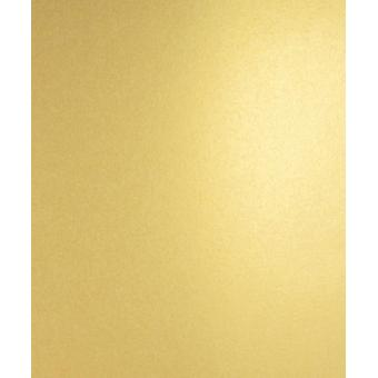 A4 Mellow Gold Shimmer Double Sided Pearlescent Card Stock