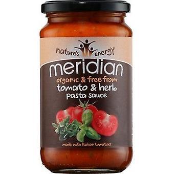 Meridian Organic Tomato & Herb Pasta Sauce 440g x6