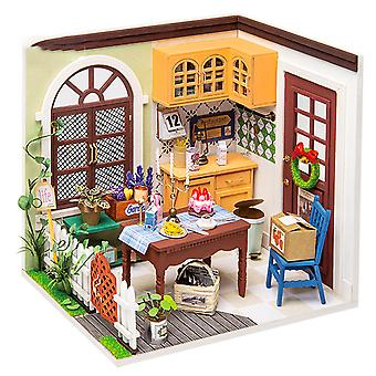 Annie's Restaurant model assembled by DIY