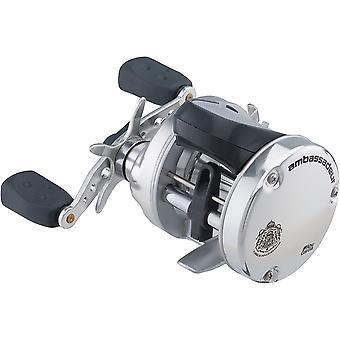 アブガルシアアンバサダーSラインカウンター5500ラウンド釣りリール - 左手