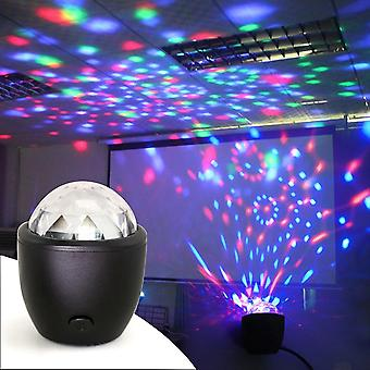 Powered Sound Actived Multicolor Disco Ball Magic Effect Lampe zum Geburtstag