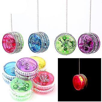 Led Blinkende Yoyo med Spinning String-legetøj