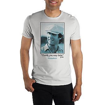 """Caddyshack ty webb """"kiitos hyvin vähän"""" lyhythihainen t-paita"""