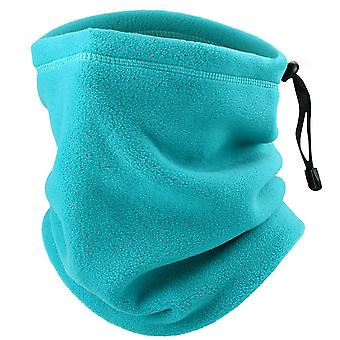 Magic Headband Vinter fleece hals varmare damask halv ansiktsmask