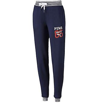 Puma Style Athletic Sweatpants Womens Jogging Bottoms Navy 836404 06 Y20B
