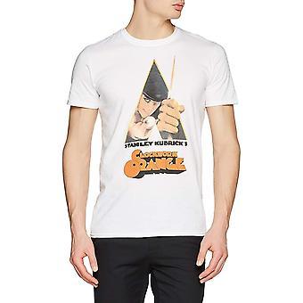 Clockwork Orange Unisex Adults Knife Design T-Shirt