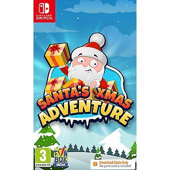 Santa's Xmas Adventure Nintendo Switch Game [Code in a Box]