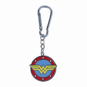 Wonder Woman Logo 3D Sleutelhanger