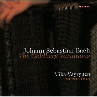 Bach / täyttäjäksi - Goldberg muunnelmia ollut harmonikka [CD] USA tuonti