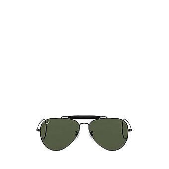 راي بان RB3030 نظارات شمسية سوداء للجنسين