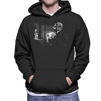 The Invisible Man Using Powers Men's Hooded Sweatshirt