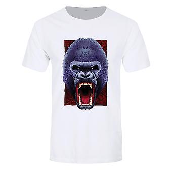 Oortodoxa Kollektiva Mens Geometriska Gorilla T-shirt