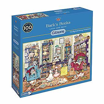 Gibsons 1000 Piece Bark'S Books Jigsaw Puzzle