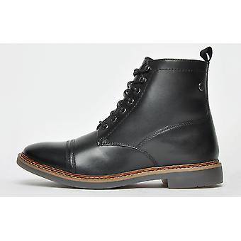 Base London Reynold Leather Black