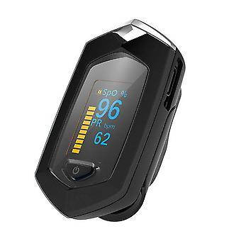 Haushalt Finger Oximeter spo2 Blut Sauerstoff Sättigung Meter pr Herzfrequenz-Monitor oled aufladbare Pulsoximeter Oximetro