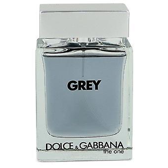 The One Grey Eau De Toilette Intense Spray (Tester) By Dolce & Gabbana 3.3 oz Eau De Toilette Intense Spray