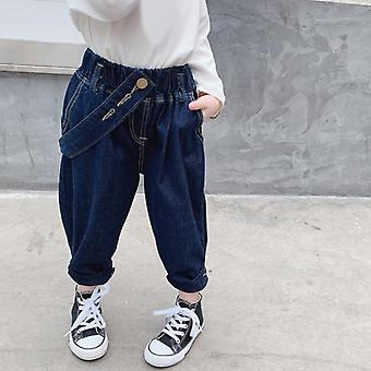 New Japanese Style Three-dimensional Cut Casual Straight-leg Jeans