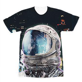 Late night life premium sublimation adult t-shirt