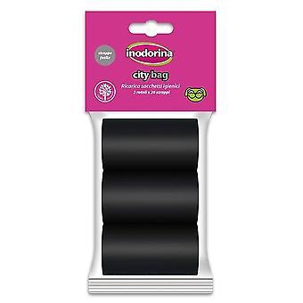 Inodorina City Bag Black (Hundar, Grooming & Välbefinnande, Bad och avfallshantering)