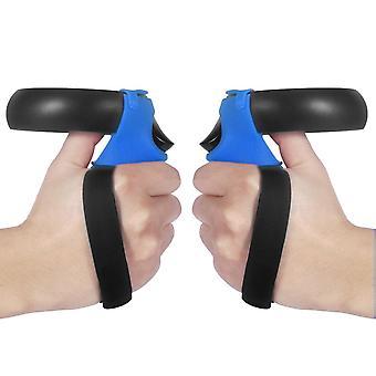 3Db vezérlőfedél oculus quest/rift s vr szemüveg szilikon fogantyú hüvely csepp nélküli szíjvezérlő fedél