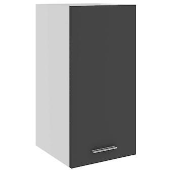 Hängeschrank Grau 29,5x31x60 cm Spanplatte