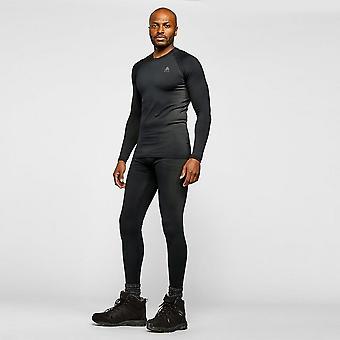New ODLO Men's Performance Warm Eco Baselayer Pants Black