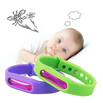 Kid Environmental Protection Silicone Wristband Summer Mosquito Repellent