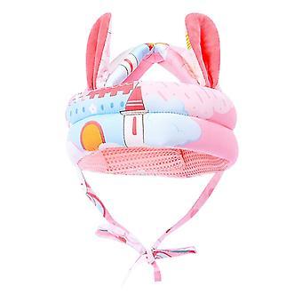 Proteção anti-colisão, capacete de bebê segurança de cabeça confortável