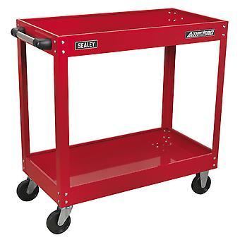 Wózek warsztatowy Sealey Cx105 2-poziomowy o dużej wytrzymałości
