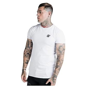 Sik Silk Gym T-Shirt White 56