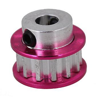 Ružová červená 13T kladka zariadenia pre SAKURA D3 CS auto hliníková zliatina