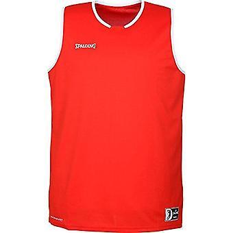Spalding Move Tank Miesten koripallo Top FIBA Vahvistettu koko - Punainen/Valkoinen