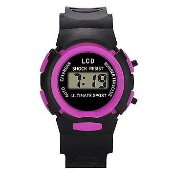 Children's Led Sport Flash Digital Waterproof Watch/girls