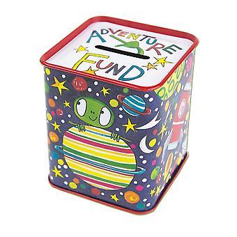 Rachel Ellen Boys Space Money Box