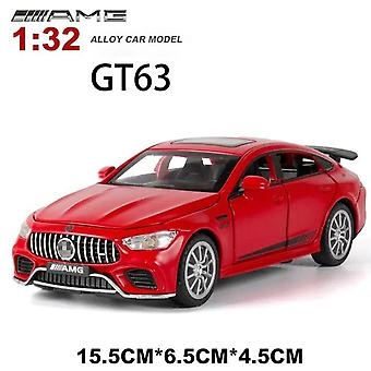 :32 BENZ AMG GT63 Alloy Model Diecasts Toy(Red)