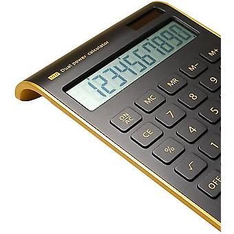 Wissenschaftlicher Taschenrechner, Pocket Scientific Calculator Black IPS LCD Display Akku und