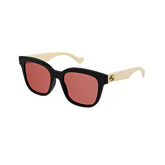 Gucci Asian Fit GG0960SA 004 Black/Orange Sunglasses