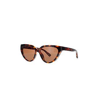 Balenciaga BB0149S 002 Havana/Brown Sunglasses