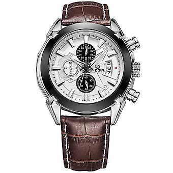 Top Brand Luxury Quartz Leather Watch