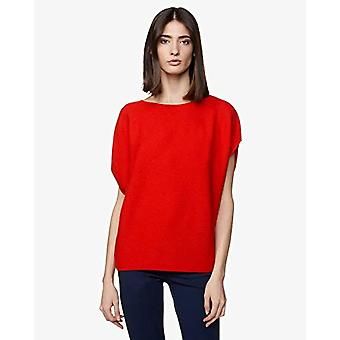 United Colors of Benetton 105GD1L52 T-shirt, Red (Red 005), M Woman