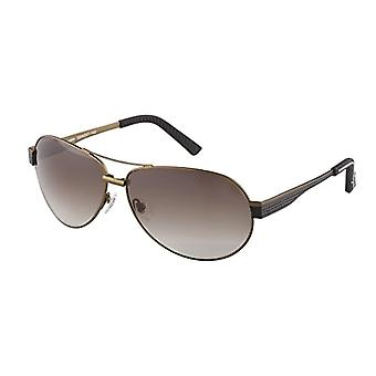 Burgmeister -- نظارات شمسية SBM201-142 مونتريال الطيار ، رجل ، براون -- براون (براون براون)