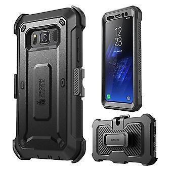 Galaxy S8 Aktiivinen kotelo, Yksisarvinen Beetle PRO, SUPCASE, karu kotelokotelo näytönsuojalla - vanhempi