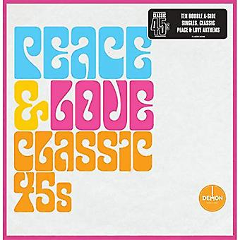 Olika artister - Peace & Love - Klassisk 45-talet Vinyl