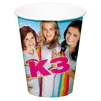 K3 Tassen, 8Pc.
